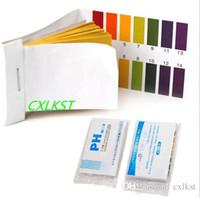 Wholesale Litmus Paper Ph Strips - 80 Strips Full Range pH Test Paper Alkaline Acid 1-14 Water Litmus Testing Kit Hot Sales