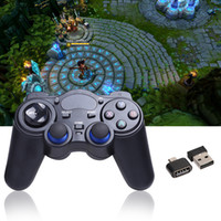Wholesale Android Tablet Game Console - 2017 2.4G Wireless Game Gamepad Joystick for Android TV Box Tablets PC GPD XD Console Game Controller Computer Controllers