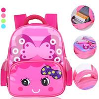 ingrosso baby backpacking-Sacchetti di scuola dei bambini di moda Cute Cartoon Zaino Bambino Toddler Sacchetto di libri per bambini Scuola materna Backpacking impermeabile traspirante