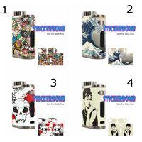 kutu filmleri toptan satış-Cilt Sarar Sticker için Eleaf iStick Pico 75 w TC Kutusu Mod Başlangıç Kiti Koruyucu Film Sticker Yedek parça Ile Moda 38 Desen DHL
