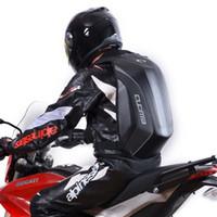 ingrosso sedili per motocicli yamaha-Zaino impermeabile per moto Borsa da viaggio Sedile posteriore Zaino rigido in fibra di carbonio per cerniera Kawasaki KTM yamaha