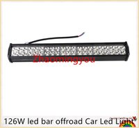 2016 126W conduit Truck bar offroad Car Led Light Bar Work Driving Car Boat Led Spot Light Flood Combo conduit lightbars 4X4 4WD VTT
