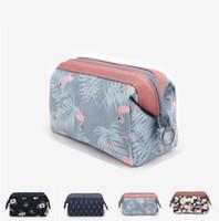 Wholesale Large Cosmetic Organizers Inserts - Women Makeup Organizer Bag Handbag Purse Large Capacity Purse Travel Insert Lady Casual Cosmetic Bag Travelling Bag
