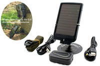 Wholesale Hunting Camera Solar Panel - Wholesale HC-300M 12MP 4000x3000 infrared DVR mms gprs trail camera hunting game camera with solar panel Free Shipping