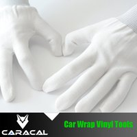 Wholesale Vinyl Application Tools - Wholesale- 20Pairs Lot Free Shipping Gloves For Installing Vinyl For Car Wrapping Media Handling Gloves Tool Gloves Application