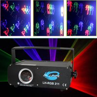 Wholesale Cheap Room Laser Lights - Hot Selling led logo full color rgb laser projector light concert laser light cheap disco laser light