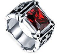 Wholesale Black Stone Jewlery - Fashion Day Jewlery Mens Jewelry black cz eternity band ringcz silver ring mens punk cz rings stainless steel ring