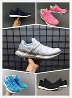 Wholesale Nest Fabric - 2017 VItra Boost Nest Triple Black Running Shoes Men Women Top Quality Ultra boost Nes Core Black White Athletic