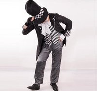 Wholesale Cosplay Mad Hatter - Wholesale-mad hatter costume men adult Alice In Wonderland cosplay party fancy dress Halloween Costumes for men fantasia wholesale
