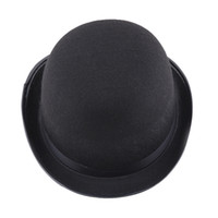 Wholesale free role playing - Halloween party role-playing hats Chaplin hats magician hat magic hat high caps jazz hat magic props 56g
