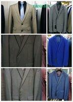 Wholesale Men S Silk Skinny Ties - 2017Classic Design Navy Blue Men Dinner Groom Blue Blue Groom Tuxedos Tuxedos Groomsmen Wedding Suits Shawl White Lapel (Jacket+Pants+tie)