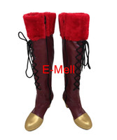 özel yapılmış cosplay botları toptan satış-Toptan-Lovelive Nishikino Maki Sonoda Umi Çizmeler Cosplay kadın ayakkabı Custom Made Cadılar Bayramı Yüksek Kalite