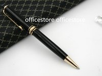 Wholesale office notes - writing 163 black plastic MB office new Quality serial number BALLPOINT PEN