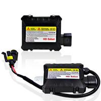 Wholesale Slim Digital Ballast Kit - 2 pcs Slim HID 55W Xenon Replacement Electronic Digital Conversion Ballast Kit for Automobiles Car 12V