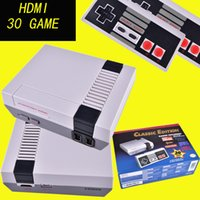 Wholesale Mini Hdmi Port - Mini Classic Game TV Video Handheld Game Console Entertainment System with HDMI Port Built-in 30 Classic Games OTH680
