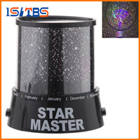 Wholesale Novelty Candle Light - Free shipping New Novelty Item New Amazing LED Star Master Light Star Projector Led Night Light