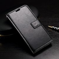Wholesale Lg Pocket Photo - Crazy Horse Wallet Leather For LG G6,K7 M1,K10 M2 F670 Case Credit Card Slot Photo Card Luxury Money Pocket Stand Holder Purse Fashion Pouch