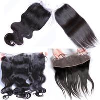 y pelo al por mayor-xblhair todas las extensiones de cabello humano con cierre de encaje Cierre de encaje superior y precio de cabello humano frontal completo de encaje