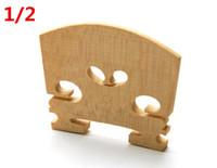 puente de herramientas al por mayor-violín partes 1/2 Violín Puente Enderezar Herramienta violín cuerdas BridgeTool Violín Accesorio 3pcs / lot