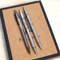 Wholesale Mechanical Drawing Pencils - New Brand 0.5   0.7 mm Iron Metal Mechanical Pencil for Writing Drawing School Supplies Free shipping 286