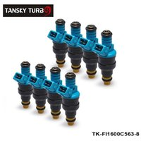ford, combustível, injector venda por atacado-Tansky -H G 8PCS / LOT 0280150563 New Fuel Injector 1600cc 152lb / hr Para Audi Chevy Ford TK-FI1600C563-8