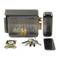 Wholesale Door Video Electric - Waterproof Electric Lock Security System Door Rim Lock for Video Door Phone Doorbell Intercom Access Control System