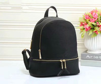 Wholesale Travel Backpack Laptop Compartment - hot new Luxury brand women bag School Bags pu leather Fashion Famous designers backpack women travel bag backpacks laptop bag