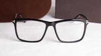 ingrosso grandi occhiali-Moda rettangolo big-rim TF5407 occhiali unisex montatura 54-17 di alta qualità pure-plancia occhiali da vista full-rim occhiali da vista set completo all'ingrosso
