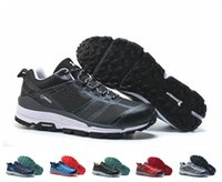 Wholesale Hot Colours - Free Shipping Cheap Hot sell Brand Outdoor Six Colours Running Shoes For Men On Sale Non-slip Training Sneakers Size EUR 40-45