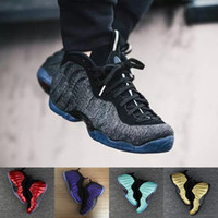 Wholesale Mens Galaxy - AAA+ Quality Mens Air Penny Hardaway Galaxy One 1 Men Basketball Shoes Olympic Running Shoes Sneakers Olympic Training Sports Shoes 41-47.