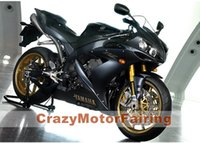 Wholesale Yamaha Body Set - 3 Free Gifts New ABS Injection High quality Fairing Kit 100% Fit For YAMAHA YZF1000 R1 YZF-R1 2009 2010 2011 09 10 11 Body set black matte
