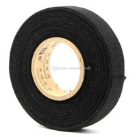 Wholesale Loom Wholesale - 19mmx15m Tesa Coroplast Adhesive Cloth Tape for Cable Harness Wiring Loom M00061 SPD