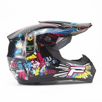Wholesale 1 Pieces Winter ABS Full Face DOT S M L XL Cascos Moto Capacetes Fit Unisex for Motorcross Helmet with goggles