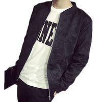Wholesale Boys Sport Coat Size - Fall-DREAK 2016 Men's cotton jacket embossed Space college jacket boys jacket hip hop big size men clothing male sport coat