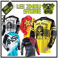 Wholesale Rf Shielding - 2017 Off road ATV Racing T-Shirt 2018 AM RF Bicicleta Ciclismo Bike downhill Jersey Camisa motocicleta motocross MTB DH MX Ropa D XS-5XL