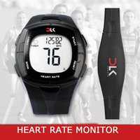 Wholesale Heart Rate Monitor For Cycling - Wholesale-ISPORT Brand Wireless Heart Rate Monitor Watches Chest Strap Calorie Counter Sports Watch For Bike Cycling Watches