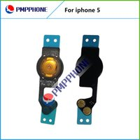 Wholesale Spare Parts For Iphone - New Home Button Sensor Ribbon Flex Cable Complete Assembly Spare Part Replacement For iPhone 5 5G