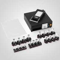 Wholesale kit stamping machine for sale - Group buy 110V V Stamp Making Photosensitive Seal Machine Kit Optical Principle Digital Stamp Maker set Hot Sale