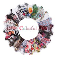 Wholesale Cartoon T Shirts For Women - Fashion 3D T shirts for women kawaii off white pluse size t-shirt cartoon cute loose fit short sleeve tops 20 colors NV06 RF