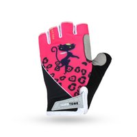 Wholesale Women S Mountain Bike Gloves - Summer Women Half Finger Cycling Gloves Polyster Mountain Road Bike Gloves Breathable Sport Bicycle Gloves Guantes Ciclismo S-2XL