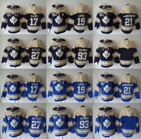 Wholesale Cheap Xxl Hoodies - Toronto Maple Leafs hoodies 2016 cheap hockey jerseys hoody sweatshirts CLARK#7 LUPUL#19 vanRIEMSDYK#21 SITTLER#27 GILMOUR#93 blue navy