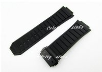 Wholesale 19mm watch buckle for sale - Group buy 30mm X mm New High Quality Stainless Steel Black Buckle Black Silicone Rubber Watch BAND Strap