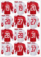 Wholesale Jonathan Quick Olympic Jersey - Mens Team WCH Jersey 19 Jonathan Toews 20 John Tavares 27 Alex Pietrangelo 2016 World Cup of Hockey Olympics Game Red White Jerseys