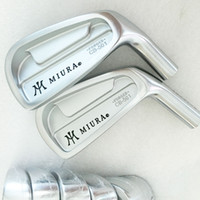 Wholesale Iron Head Golf Forged - New Mens Golf Heads MIURA CB-501 FORGED Golf Irons head set 3-9P irons set Golf clubs heads No Clubs shaft Free shipping