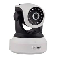 appareil photo onvif mégapixel achat en gros de-Sricam SP017 720P HD IP Caméra Wifi Megapixel H.264 Sans Fil P / T ONVIF CCTV Sécurité Caméra IP Caméra de sécurité