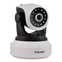 ingrosso fotocamera megapixel onvif-Sricam SP017 720P HD Telecamera IP Wifi Megapixel H.264 Wireless P / T Telecamera Onvif CCTV Security IP Telecamera di sicurezza domestica