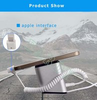 Wholesale Mobile Phone Charging Stands - wholesale Mobile Cell phone Security display stand with alarm and charging for retail shop anti-theft exhibition