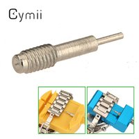Venta al por mayor-Cymii Profesional útil 3 x 0.8mm Watch Link Pins correas pulsera Remover Spring Pusher Reloj Repair Tool Kits Durable