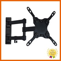 "Wholesale Mounting Flat Screen Wall - Full Motion TV Wall Mount Tilt Swivel VESA TV LED Monitor Mount Bracket 13"" to 47"" inch LCD LED Screen Stand"