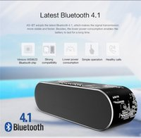 Altoparlante wireless Bluedio AS Altoparlante portatile Mini Bluetooth Per MacBook IPhone x Sistema audio Surround stereo 3D Musica Spedizione gratuita DHL